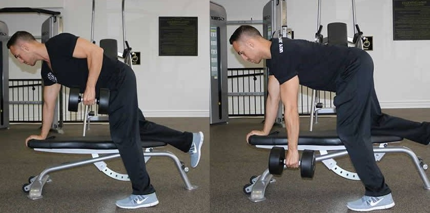 dumbell row